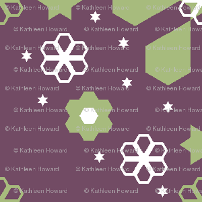 Medalions of Hexagons hex_quarter_2_inch