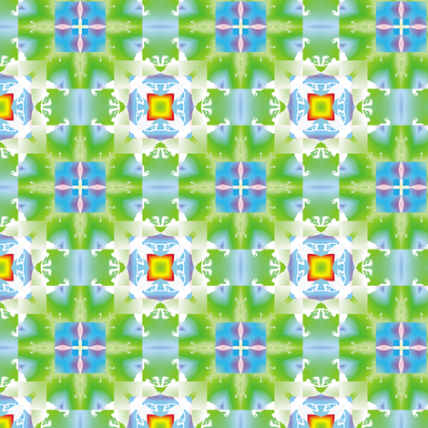 Raptor Flower, S fabric by animotaxis on Spoonflower - custom fabric