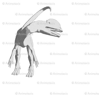 Dilophosaurus Sketch, L