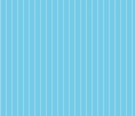 Daisy Joy blue on Stripes fabric by floating_lemons on Spoonflower - custom fabric