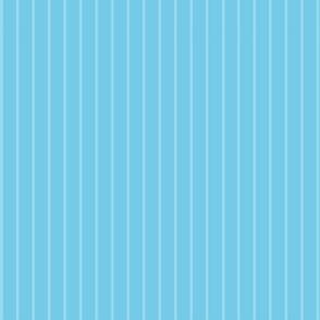 Daisy Joy blue on Stripes