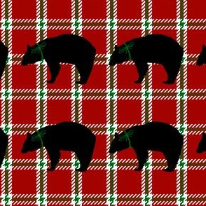 Bear Plaid