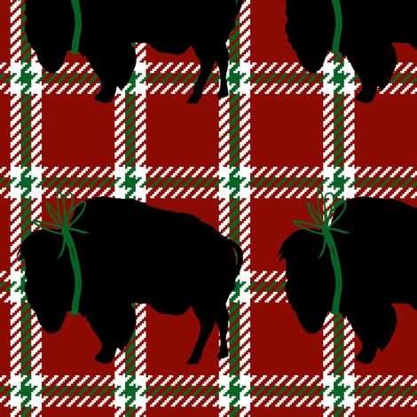 Big Buffalo Plaid fabric by fig+fence on Spoonflower - custom fabric