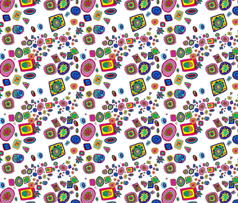 Italian Glass Party  fabric by aftermyart on Spoonflower - custom fabric