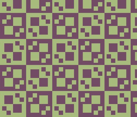 Dusty Lime and Grape Drape fabric by pd_frasure on Spoonflower - custom fabric