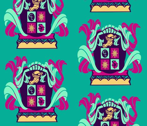 marzlene_Family Crest_coat of arms fabric by marzlene'z_eye_candy on Spoonflower - custom fabric
