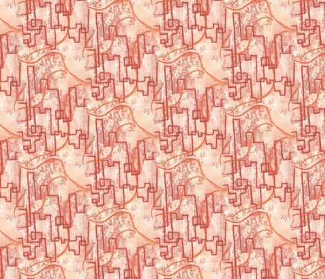 Summer City fabric by siya on Spoonflower - custom fabric