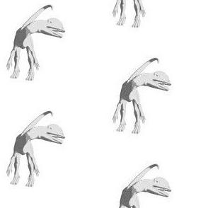Dilophosaurus Sketch, S