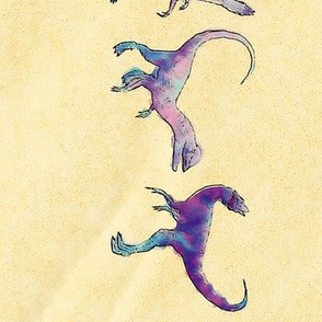 Dilophosaurus Border, L