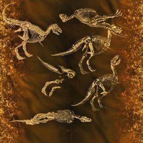T-Rex Fossils, L