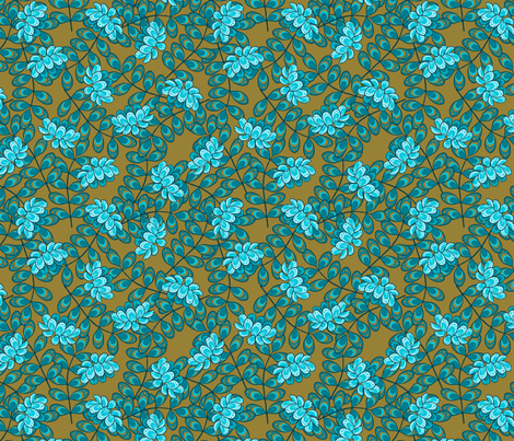 Crownvetch fabric by siya on Spoonflower - custom fabric