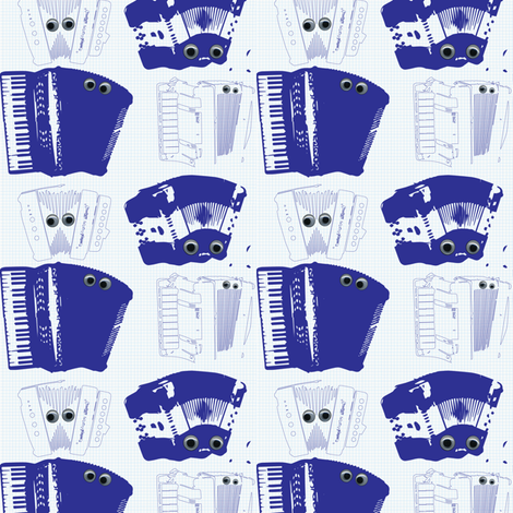 Accordion To Plan fabric by alysnpunderland on Spoonflower - custom fabric