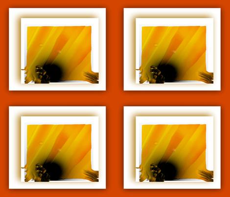 Sun Escape fabric by anniedeb on Spoonflower - custom fabric