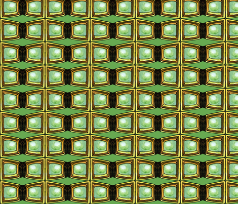 Computer Love fabric by poshcrustycouture on Spoonflower - custom fabric