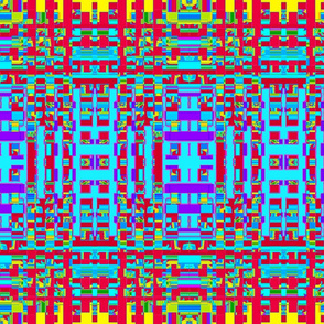 rectangles andsquares spectrum_blues
