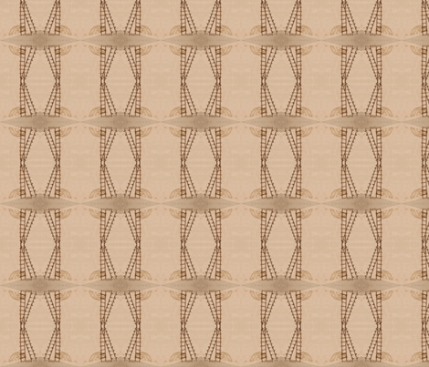 Diamond Ladder Stripes fabric by zsmama on Spoonflower - custom fabric