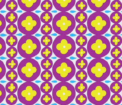 circles fabric by cleverviolet on Spoonflower - custom fabric