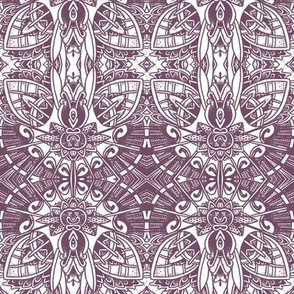 Deco-Rated Purple Fandango