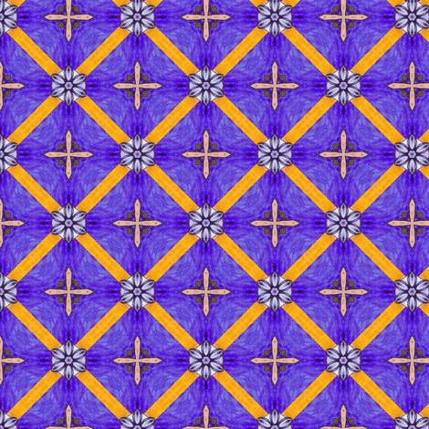 Hariha's Crosses fabric by siya on Spoonflower - custom fabric