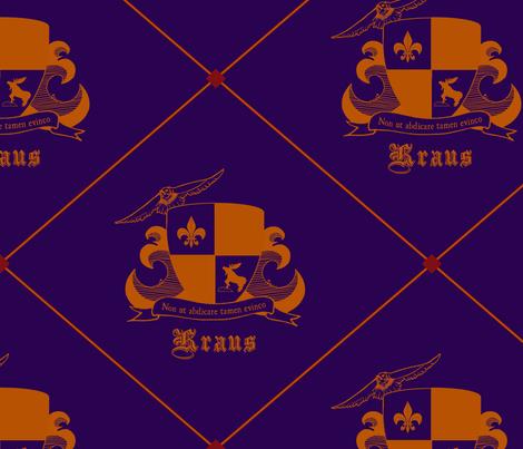 Family Crest - Kraus fabric by alainarachelle on Spoonflower - custom fabric