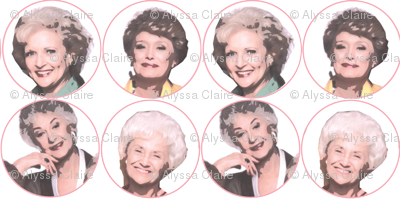 Golden Girls--Thank you for being a friend.