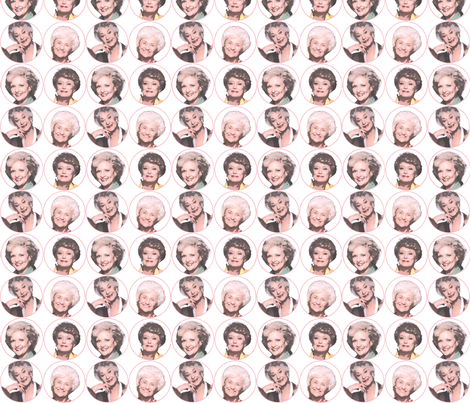 Golden Girls--Thank you for being a friend. fabric by alysnpunderland on Spoonflower - custom fabric