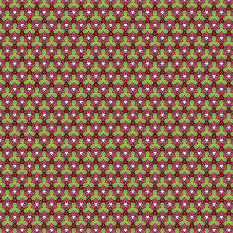 Rosalie's Trefoil fabric by siya on Spoonflower - custom fabric