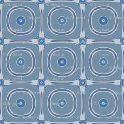 Limestone Metallic Look Circles © Gingezel™ 2012