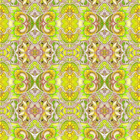 Lemon Lime Sunshine fabric by edsel2084 on Spoonflower - custom fabric