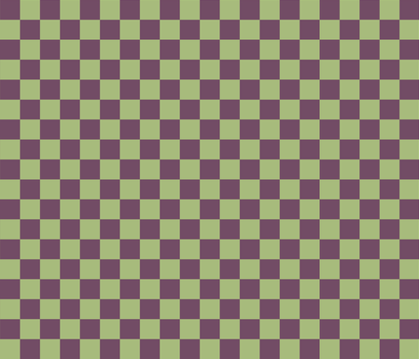 Vineyard Checkerboard fabric by pd_frasure on Spoonflower - custom fabric