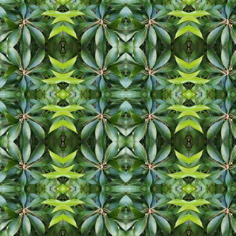 Leaf Me Be fabric by justjoycelyn on Spoonflower - custom fabric