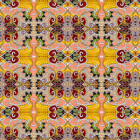 A Country Heart fabric by edsel2084 on Spoonflower - custom fabric