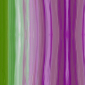 Green and purple blend