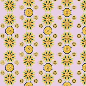 Chrysanthemumwheel Lavender