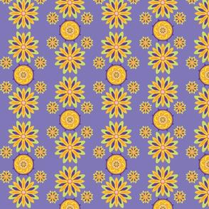 Chrysanthemumwheel Lavender I