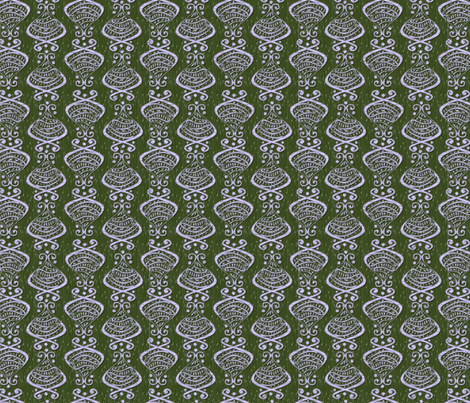 Hallmarks - Lilac fabric by glimmericks on Spoonflower - custom fabric