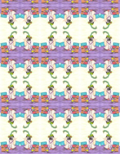Whimsy-_Lady_Bo_Dandy-ed-ed fabric by cfishdesign on Spoonflower - custom fabric