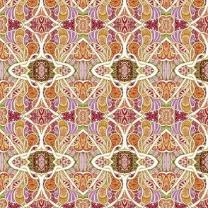 For Love of Paisley (small, autumn colors)