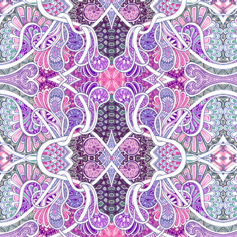 Paisley Patchwork fabric by edsel2084 on Spoonflower - custom fabric