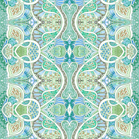 The Paisley Invasion fabric by edsel2084 on Spoonflower - custom fabric