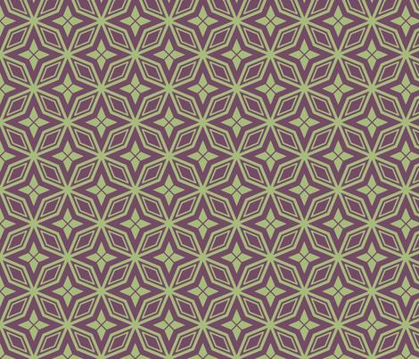 In Diamonds Sherbert fabric by lauramarshdesigns on Spoonflower - custom fabric