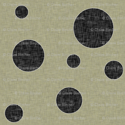 Extinction in Linen Polka Small