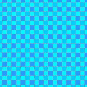 blue squares fat quarter 1