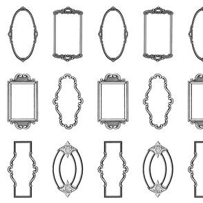 Signature Frames White