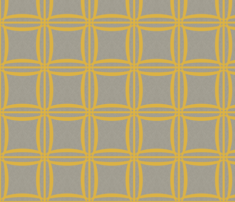 Extinction in Linen Woven Grid Large fabric by glanoramay on Spoonflower - custom fabric
