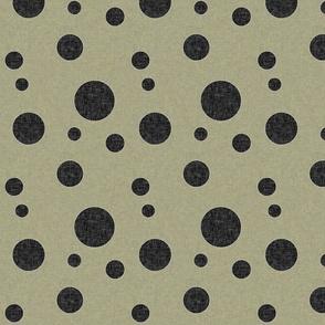 Extinction in Linen Polka Large