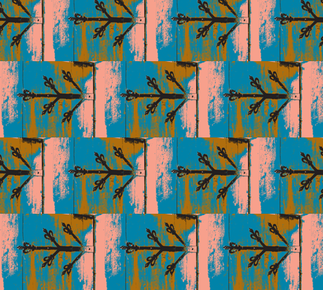 Hinged on a Feeling fabric by susaninparis on Spoonflower - custom fabric
