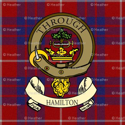 Hamilton crest