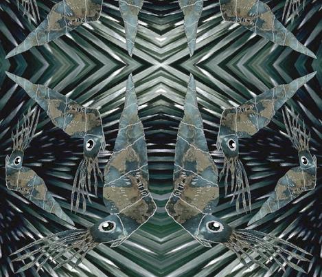 ORTHOCERAS TIME WARP fabric by bluevelvet on Spoonflower - custom fabric