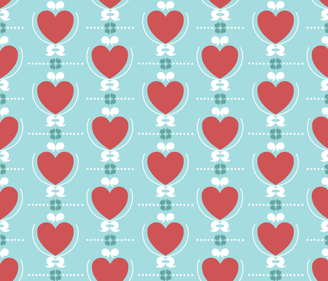 love_family_crest fabric by ottomanbrim on Spoonflower - custom fabric